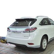 For Lexus RX200 RX270 RX350 RX Series 2013 2014 2015 2016 Car ABS Plastic Unpainted Primer Modified Wing Rear Trunk Spoiler 1Pcs