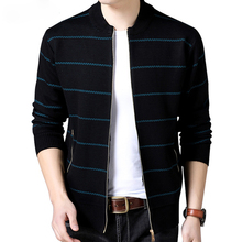 2019 New Fashion Brand Clothing Jacket Men Casual Mandarin Collar Mens Coat Pockets zipper Contrast Color Jackets And Coats