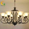 European-style living room chandelier lights Continental Iron chandelier vintage chandelier restaurant led chandelier
