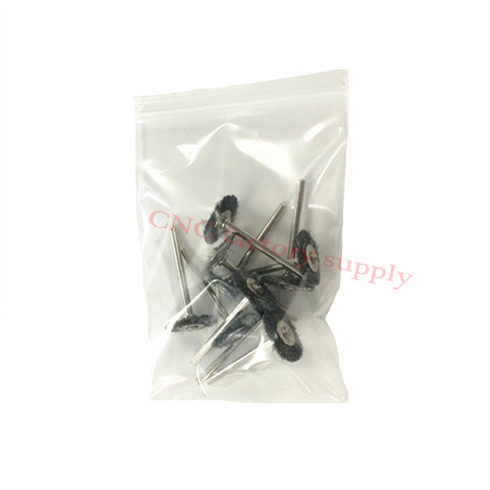10x rotary mini tools steel wire wheel brushes cup rust cleaning - 10pcs Lot Steel Wire Wheel Brushes Cup Rust Dremel Accessories Rotary Tool For The Engraver