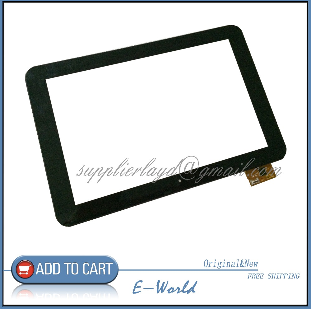 Original 10.1inch Touch screen with border WGJ1086-V1 WGJ1086 for tablet pc free shipping