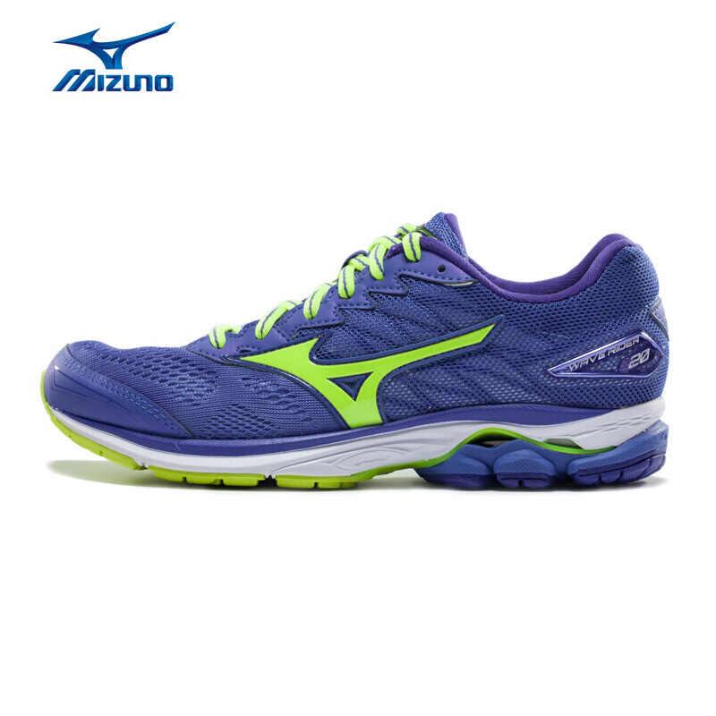 MIZUNO Women WAVE RIDER 20 Professional Running Shoes