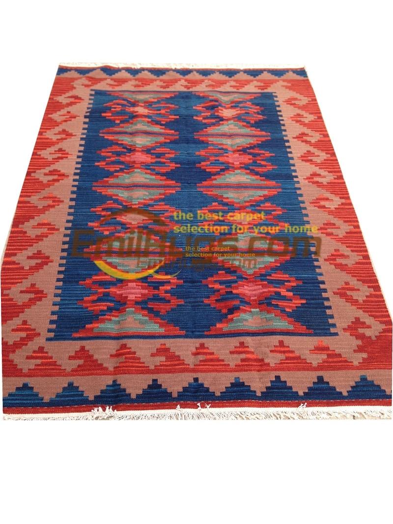 handmade wool kilim rugs living room rug bedroon bedside blanket corridor Mediterranean style 11-7gc131kilimyg4