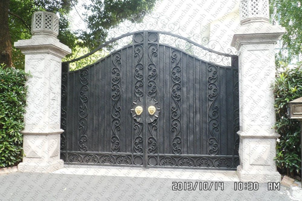 Metal Front Garden Gates  Iron Gate Company Patio Gates Wrought Iron
