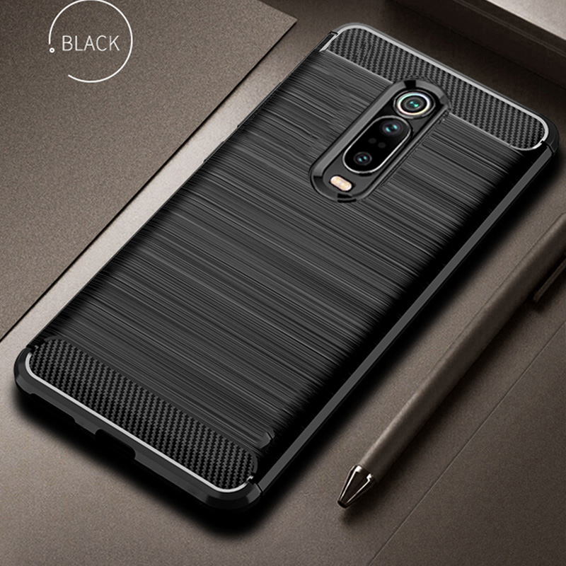 For Xiaomi Mi 9T 9 T Pro Case Carbon Fiber Cover 360 Full Protection Phone Case For Redmi K20 K 20 Pro Cover Shockproof Bumper(China)