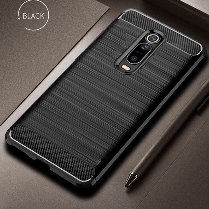 For Xiaomi Mi 9T 9 T Pro Case Carbon Fiber Cover 360 Full Protection Phone Case For Redmi K20 K 20 Pro Cover Shockproof Bumper
