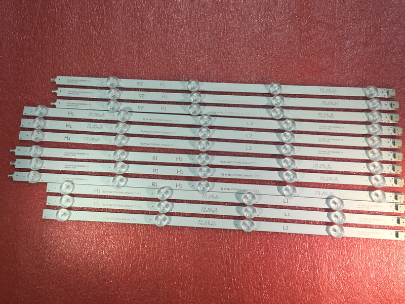 Well-Educated New Kit 10 Pcs R1 L1 R2 L2 Led Strip Perfect Replacement For Lc420due 42ln5400 6916l-1385a 6916l-1386a 6916l-1387a 6916l-1388a Computer & Office