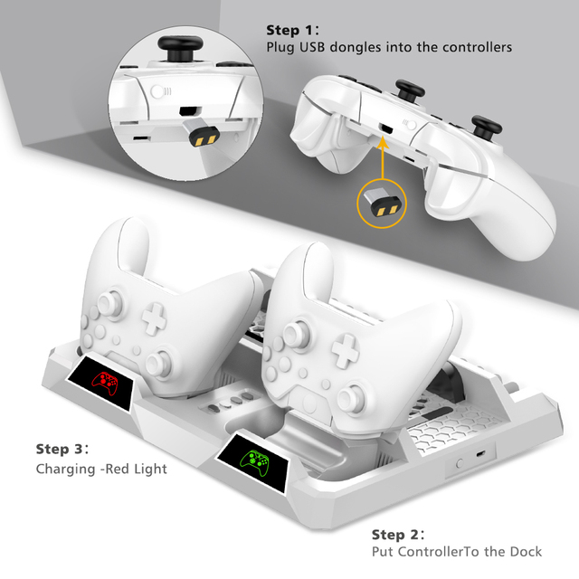OIVO Xbox One Cooling Stand & Charging Station