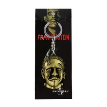 Frankenstein 3D Portrait Keychain New Arrival Science Fiction Key Chain Ring For Man's Boys Gift