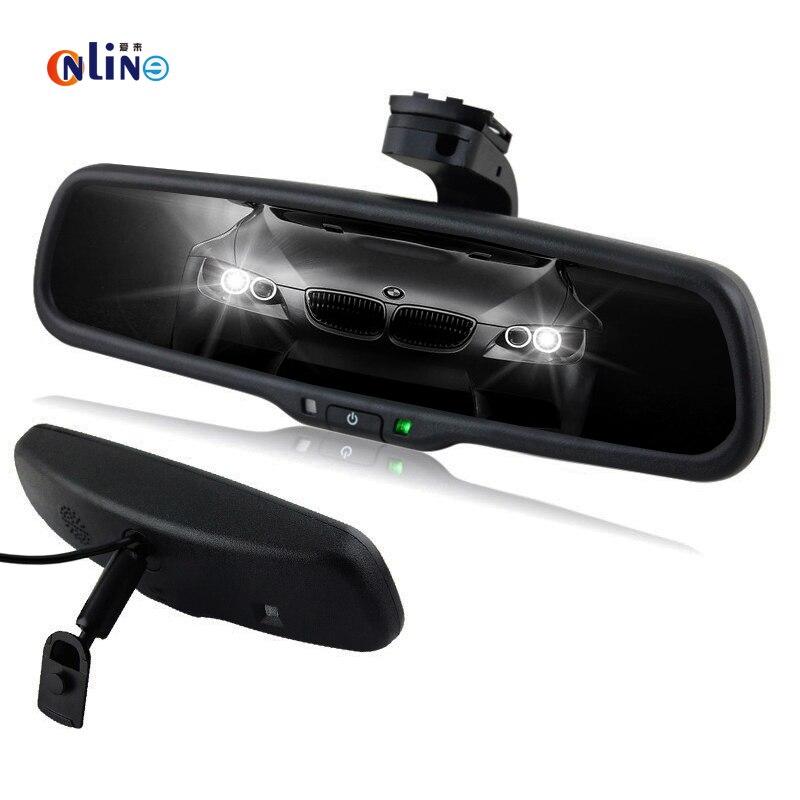 Clear View специальный кронштейн автомобильное электронный автоматический приглушить подкладке Зеркало заднего вида для Toyota Honda Hyundai Kia VW Форд