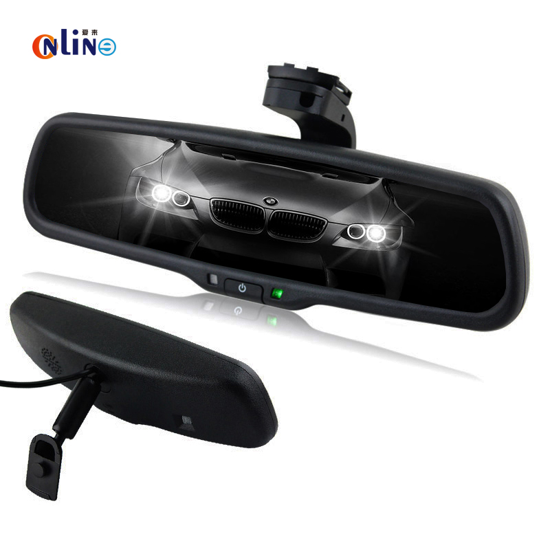 Clear View Special Bracket Car Electronic Auto Dimming Interior Rearview Mirror For Toyota Honda Hyundai Kia VW Ford anshilong oem car vehicle auto interior rear view mirror suitable for most of toyota ford nissan honda mazda buick cars
