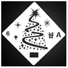 Merry Christmas Trees Sticker Painting Stencils for Diy Scrapbooking Stamps Home Decor Paper Card Template Decoration Album merry christmas tree sticker painting stencils for diy scrapbooking stamps home decor paper card template decoration album craft
