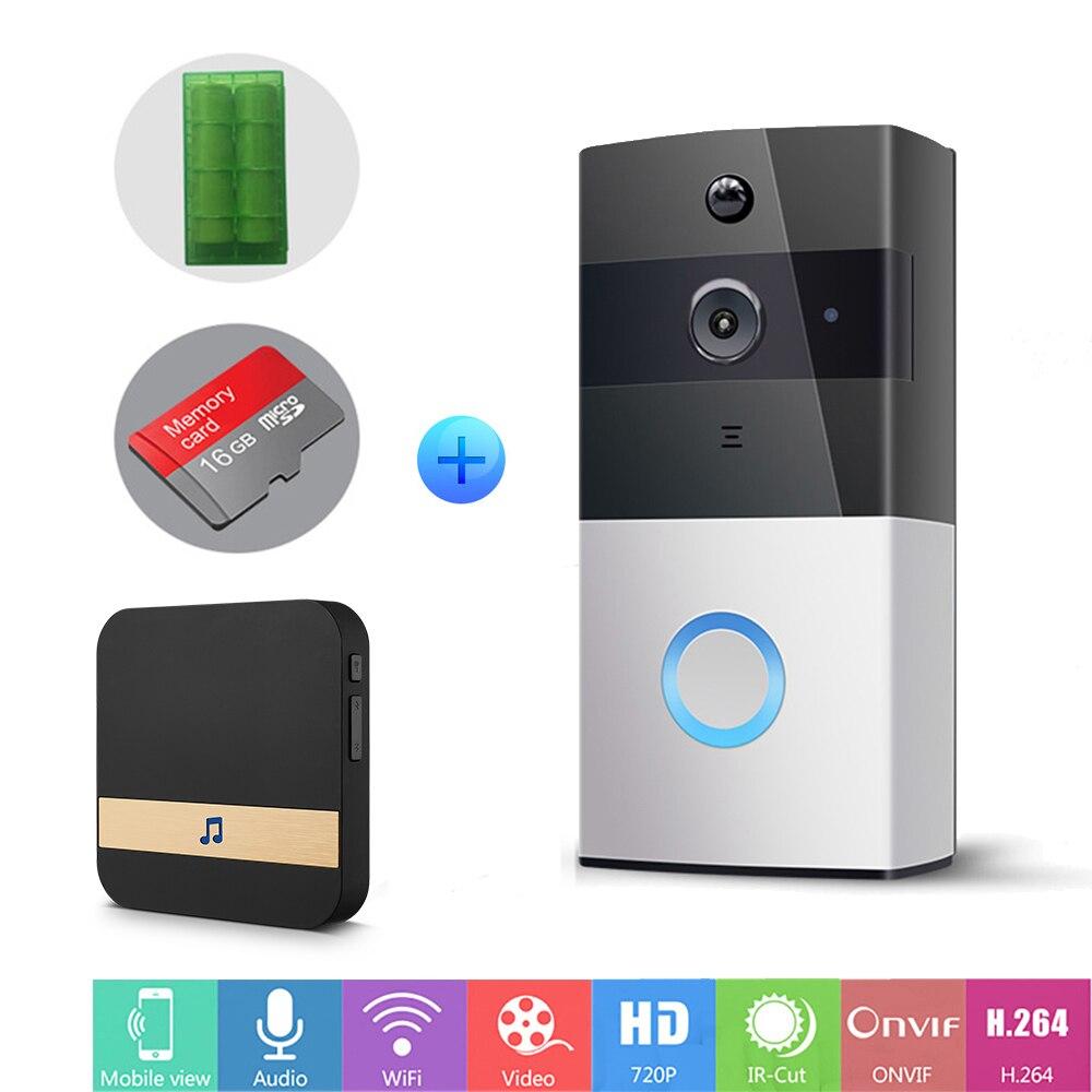 Ip Video Intercom Wi Fi Video Door Phone Ring Door Bell