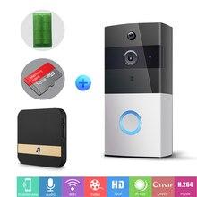 IP Video Intercom WI-FI Video Door Phone Ring Door Bell WIFI Doorbell Camera For Apartments IR Alarm Wireless Security Camera