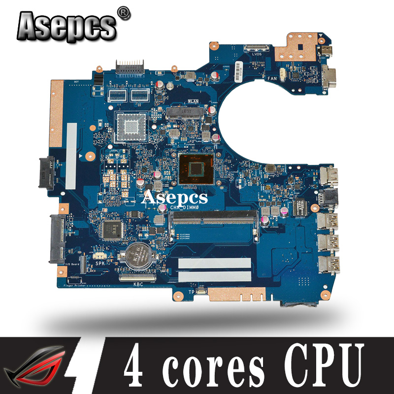 Akemy For ASUS P552SJ PU552SJ PRO552S P552S P552SA Laptop Motherboard Tested 100% Work Original Mainboard 4 Cores