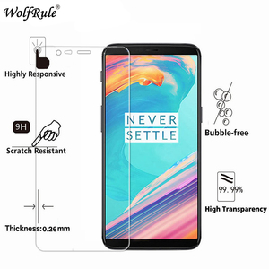 """2PCS Screen Protector Oneplus 5T Glass Tempered Glass For Oneplus 5T Glass Anti-scratch Phone Film Oneplus5T A5010 Glass 6.01""""(China)"""