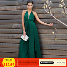 516c40e52b3f Compra high slit summer maxi dress y disfruta del envío gratuito en ...