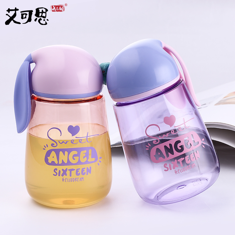 SB60289 400ml Water Bottle Rabbit Drinking Bottle Portable Tumbler Cycling Baby Leak proof Water Bottle