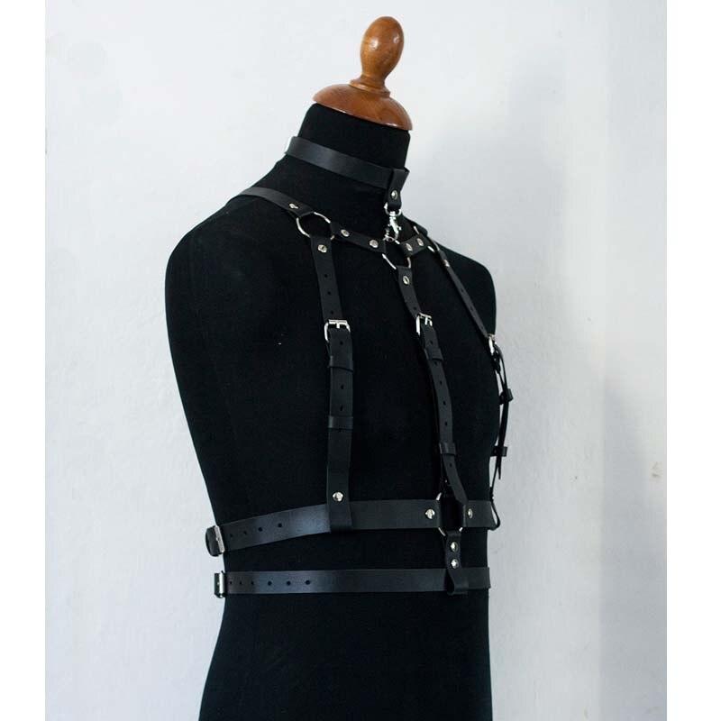 Harness Men gg Belt Bondage Belt Men Pu Leather Gay Suspenders Pastel Goth Arnes Mujer Garter Gothic Seks Stockings Sexy Cosumes