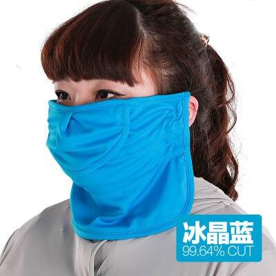 Cou visage Upf50 + masques de plein air boire de l'eau Anti-uv équitation respirer librement Cool anti-poussière parasol masque crème solaire femme fille