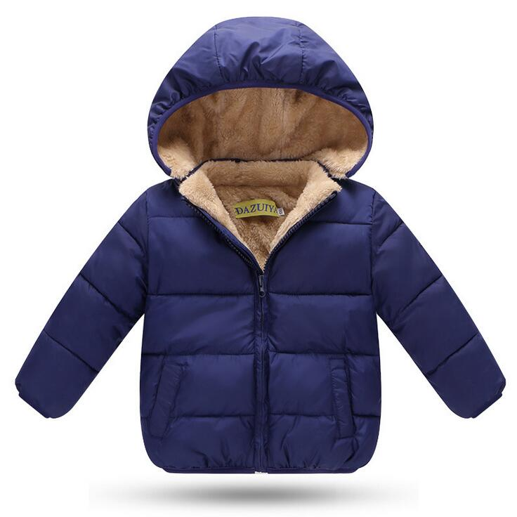 super cute ad3c0 4bff5 US $17.17 25% di SCONTO|Nuovo 2017, baby boy inverno giubbotti, caldo  imbottiture cappotto, giubbotti antivento ragazza, ragazza outercoat, tuta  ...