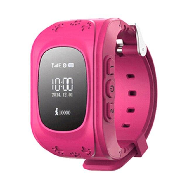 GPS Трекер Дети Наручные Часы Аварийного GSM Борьбе Потерянный LED SOS Smart Watch Мобильный Телефон Приложение Для IOS и Android Браслет Relojes