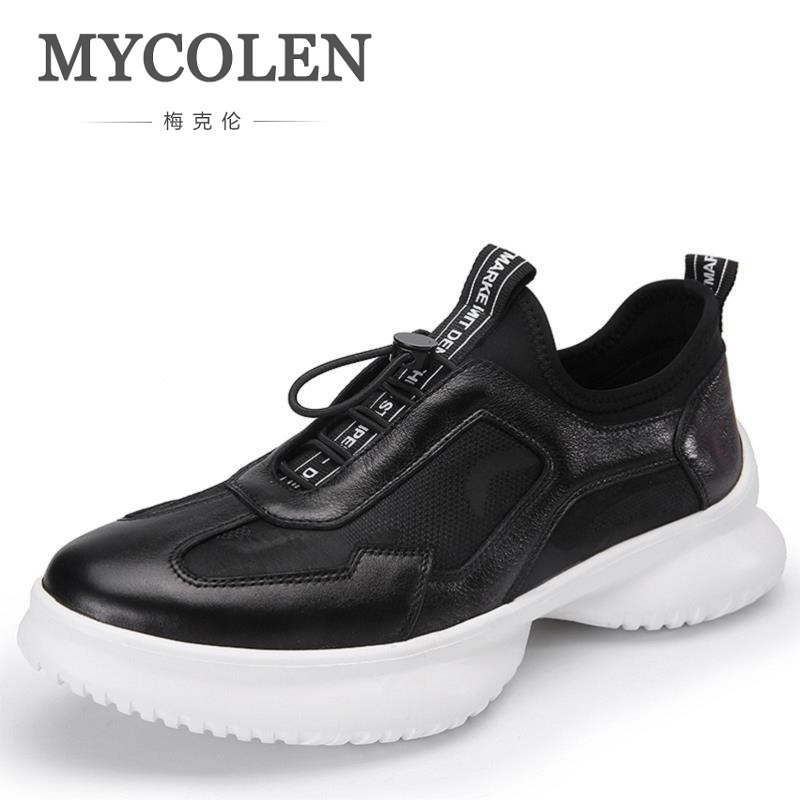 MYCOLEN Fashion Shoes Men Breathable Casual Shoes Mens Comfortable Flats Youth Student Shoes Chaussures Hommes En Cuir winter leather shoes breathable sneaker fashion boots men casual shoes handmade fashion comfortable breathable men shoes