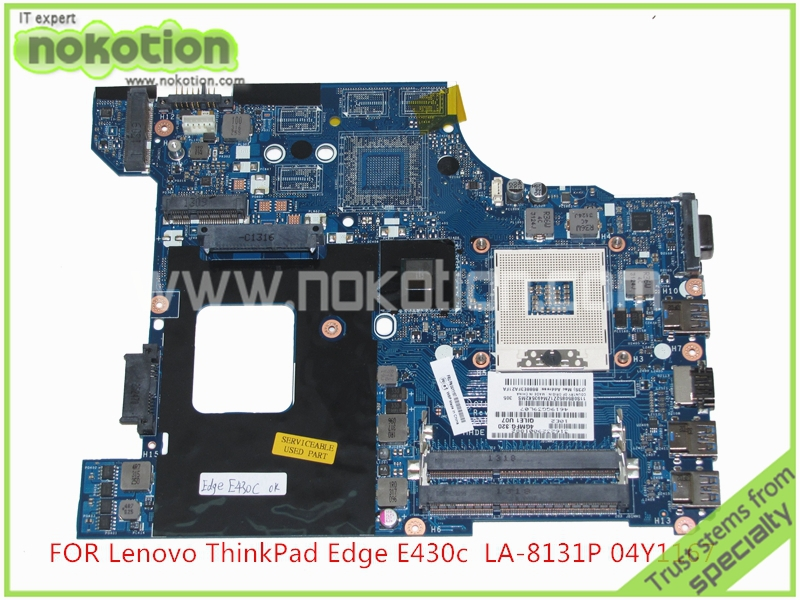 04Y1167 04W4018 0B50852 QILE1 LA 8131P For lenovo Edge E430 E430C Laptop font b Motherboard b