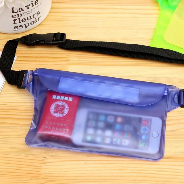 Waterproof Swimming Drifting Diving Waist Bag Underwater Dry Shoulder Backpack Waterproof Waist Belt Bag Pocket Pouch