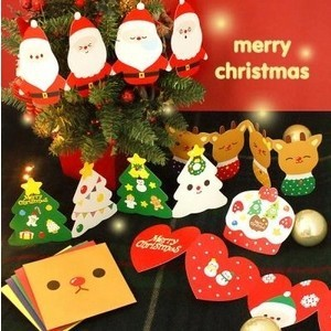 1Box / Lot Christmas GIFT  Christmas Season Organ Folding Christmas Cards Paper Crafts Scrapbooking Cards Gifts Decoraiton бентли трейд барный стул бентли трейд jy 1008 red