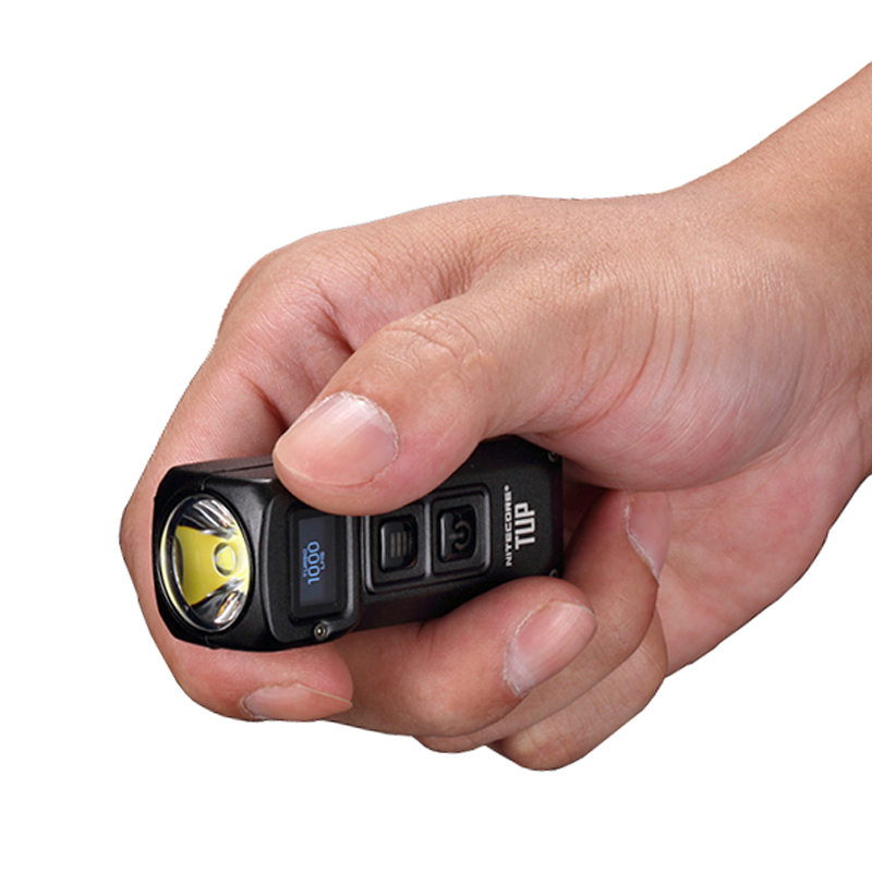 NITECORE TUP Flashlight Keychain Light CREE XP-L HD V6 max 1000 LM EDC Compact and Lightweight beam distance 180M with Battery