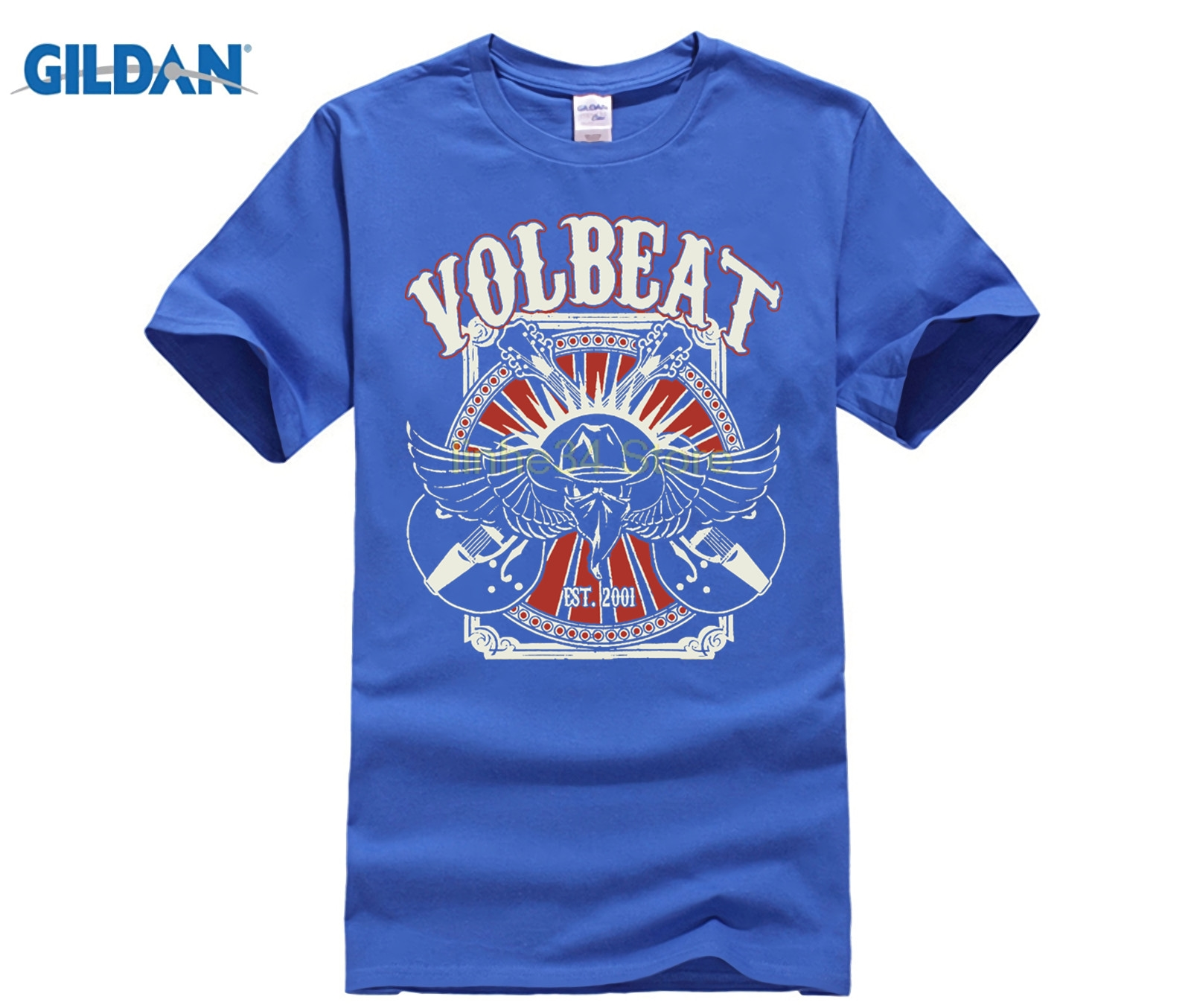 New-Volbeat-Seal-The-Deal-Metal-Rock-Band-Men-s-White-T-Shirt-Size-S-To