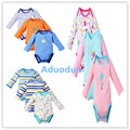 2pcs/lot Fantasia Baby Boy Bodysuit Girl Jumpsuit Bebe Overall long Sleeve Body Suit Baby Clothing Set Fall Spring Cotton 3M-24M