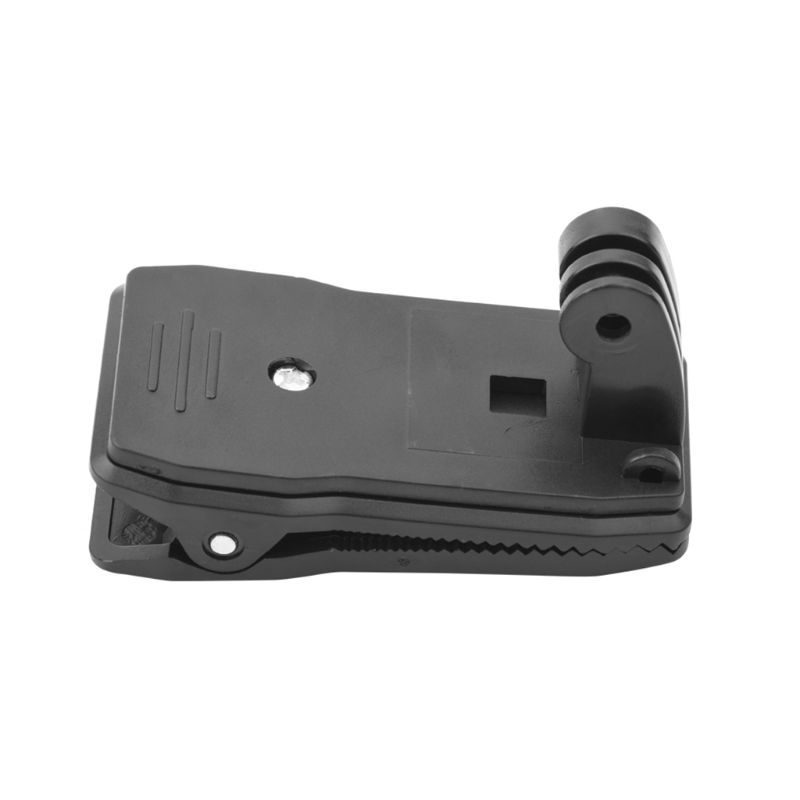 OOTDTY Black Portable Backpack Clip Clamp Carrying Strap Mount for DJI Osmo Pocket Action Sports Camera Accessories