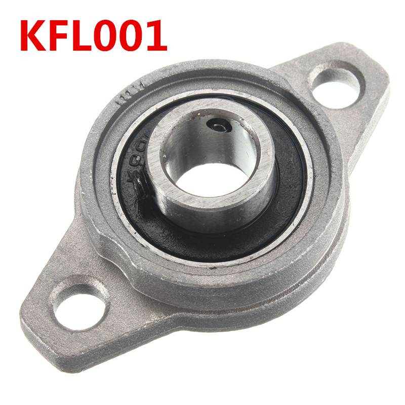 0.8 cm Metal Pillow Flange For Machinery Silver