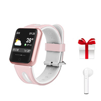 P68 Smartwatch for android ios montre connect smart watch waterproof ip68 muliti sport wristband rose gold fitness bracelet gift
