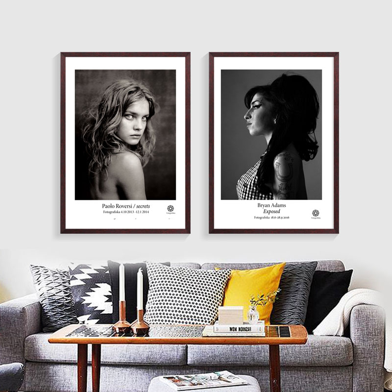 Fashion photography posters of natalia vodianova amy whinehouse scarlett johansson more 5 options