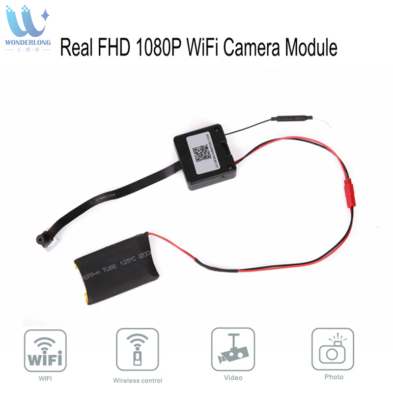 Real 2MP Full HD 1080P Wireless WiFi IP CCTV Mini Camera Sport Espia DV P2P Video Recorder Digital Small Cam Camcorder Module цены