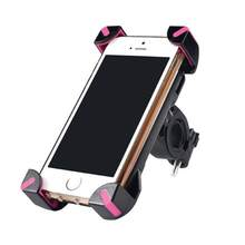 Anti-Slip Universal 360 Rotating Bicycle Bike Phone Holder Handlebar Clip Stand Mount Bracket For Smart Mobile Cellphone(China)