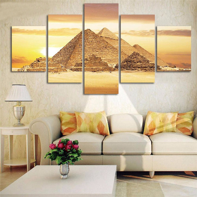 Aliexpress.com : Buy Unframed Modular Arts New Year Gift 2017 Wall ...