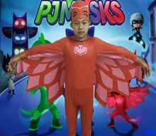 Super hero Baby Masks hero Connor Greg Amaya Owlette Classic Toddler Child Halloween Costume Disguise