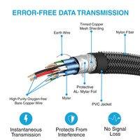 30 м/40 м/100 м UHD 4 К * 2k @ 60 Гц HDMI 2.0 Волокно оптический кабель преобразователя Поддержка HDCP 2.2, AOC и HDR для Apple ТВ, PS3, ЖК дисплей проектор