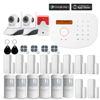 Wireless GSM Smart Home Security Alarm Systems Kits Infrared Motion Sensor Door Alert with APP Control