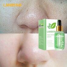 LANBENA Beauty Face Serum Skin Care Remove Blackheads Shrink Pores Peeling Acne