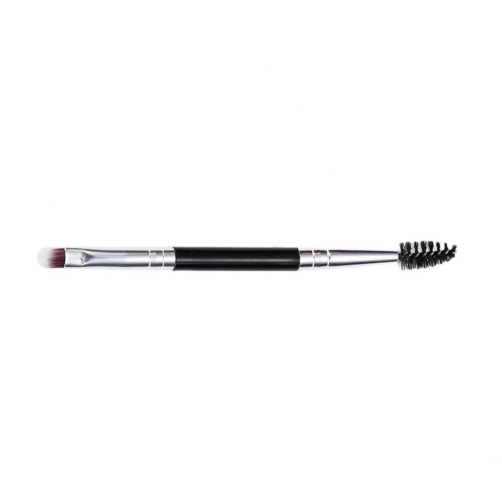 ELECOOL 1 шт. кисть для теней для бровей гелевая кисть для бровей двойная Кисть для макияжа женский инструмент для красоты Maquiagem