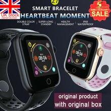 UK Z7 Смарт часы кровяное давление монитор сердечного ритма IP67 Браслет Водонепроницаемый