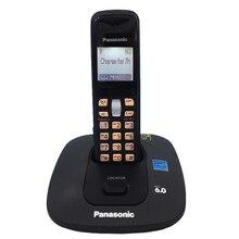 KX-TG6411T Digital Inalámbrico Teléfono Fijo Inalámbrico Con IDENTIFICADOR de Llamadas Tecla Retroiluminada Despertador Para Home Office Bussiness