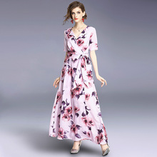 d0007415f53f0 Buy dress maxi pink and get free shipping on AliExpress.com