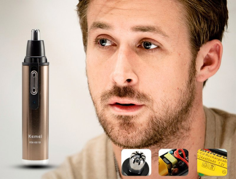 New Men Ear Nose Neck Face Eyebrow Hair Beard Shaver Trimmer Clipper Remover Cleaner CY face care electric women men nose ear neck eyebrow trimmer hair remover shaver wet dry underarms body leg bikini arms epilatorpj