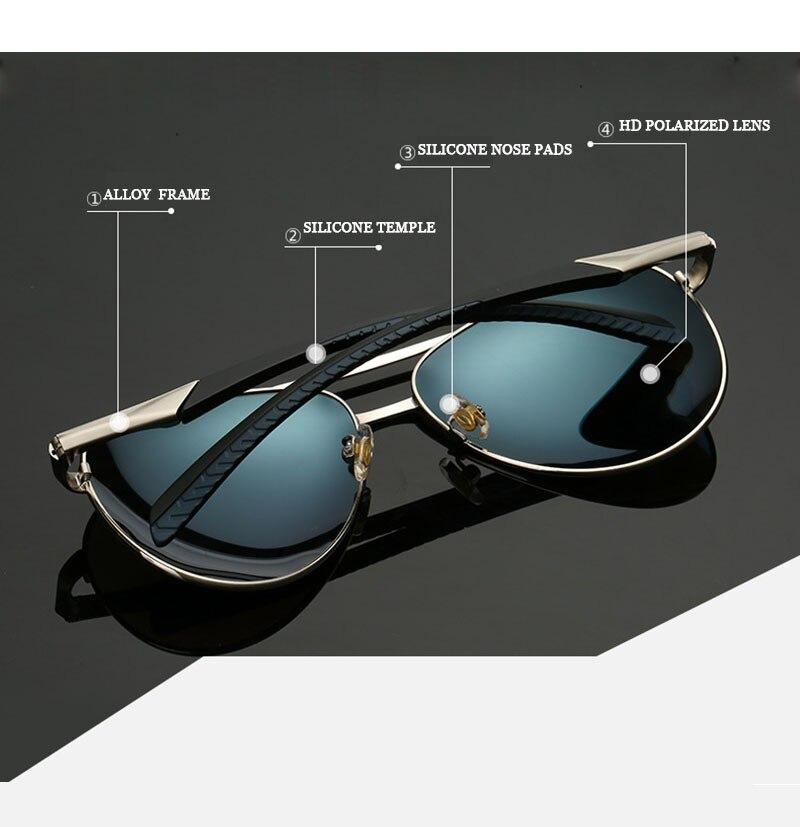 5190dea6d6 ... Aviation Sunglasses Men Women High Quality Alloy Frame Polaroid Lenses  Rubber Tips 8075. aeProduct.getSubject() aeProduct.getSubject() aeProduct.